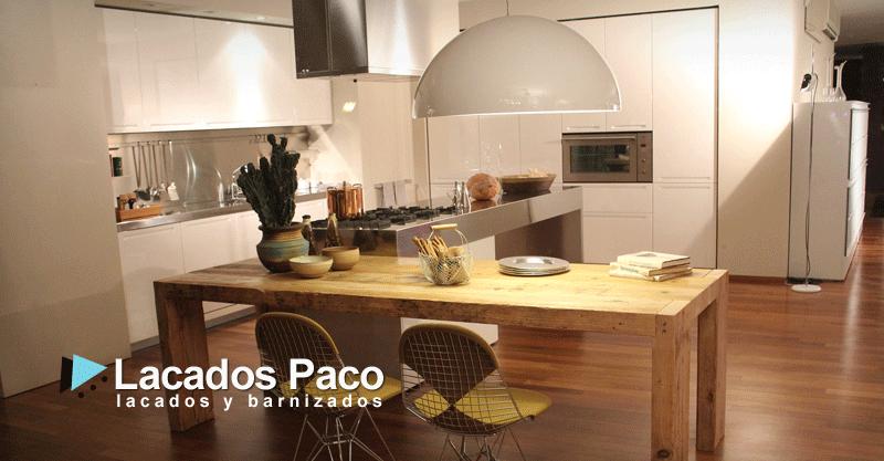 Lacado de muebles de cocina Alicante, Torrevieja, Orihuela ...